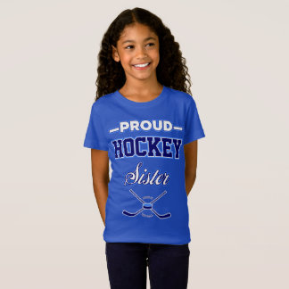 Proud Hockey Sister Youth T-Shirt