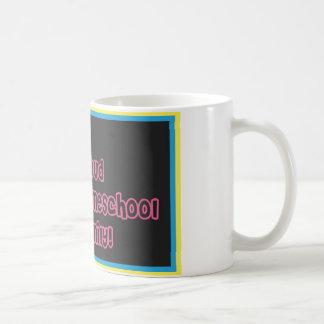 Proud Homeschool Family coffee mug
