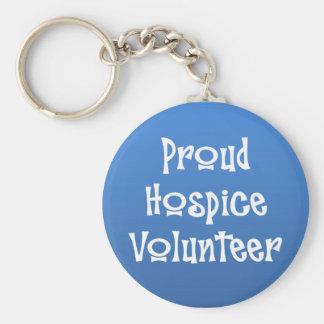 Proud Hospice Volunteer Key Ring