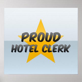 Proud Hotel Clerk Print