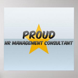 Proud Hr Management Consultant Poster