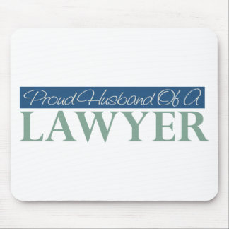 Proud Husband Of A Lawyer Mouse Pads
