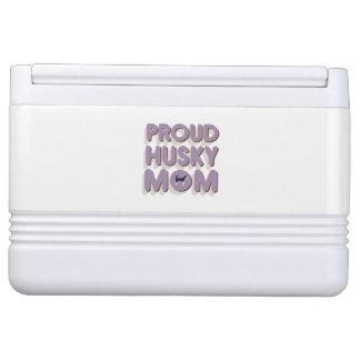 Proud Husky Mom Cooler