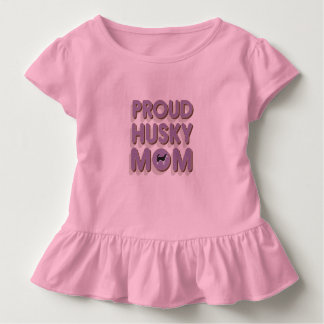 Proud Husky Mom Toddler T-Shirt