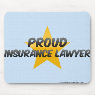 Proud Insurance Lawyer Mousepads
