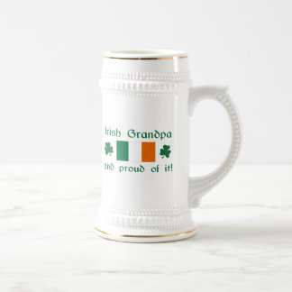 Proud Irish Grandpa Mugs