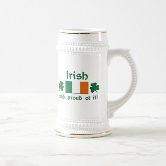 Proud Irish Beer Steins