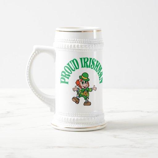 Proud Irishman Mugs
