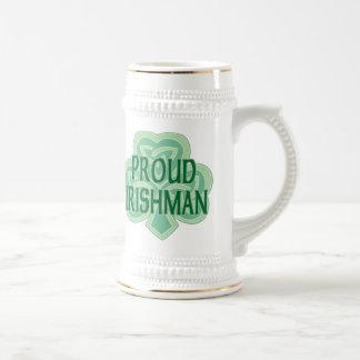Proud Irishman Stein Mugs