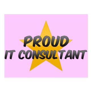 Proud It Consultant Post Card