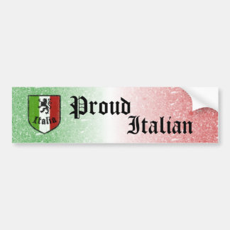 Proud Italian Bumper Sticker