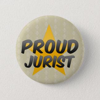 Proud Jurist 6 Cm Round Badge