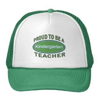 Proud Kindergarten Teacher Cap