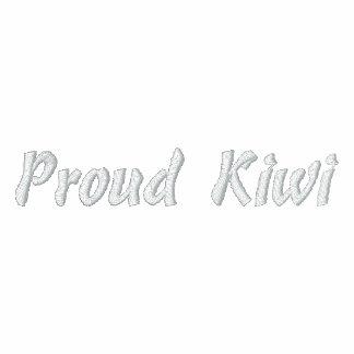 Proud Kiwi Embroidered Shirt