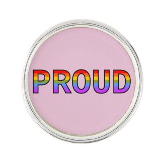 PROUD LAPEL PIN