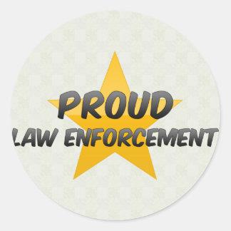 Proud Law Enforcement Sticker