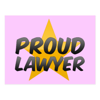 Proud Lawyer Post Card