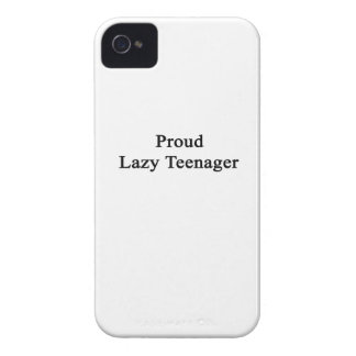 Proud Lazy Teenager Case-Mate iPhone 4 Case