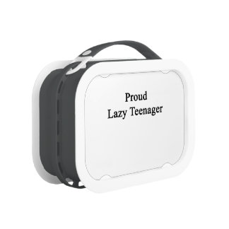 Proud Lazy Teenager Lunchbox
