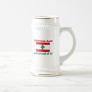 Proud Lebanese Aunt Beer Stein