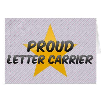 Proud Letter Carrier Card