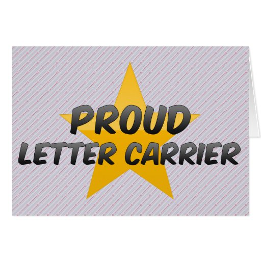 Proud Letter Carrier Card