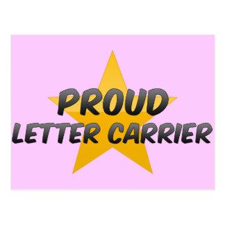 Proud Letter Carrier Postcard