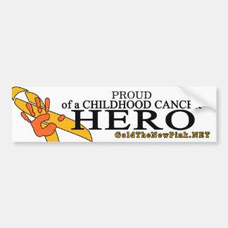 Proud - Leukemia Bumper Sticker