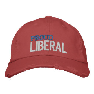 Proud Liberal Embroidered Hat