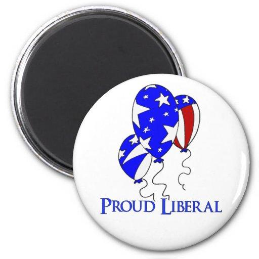 Proud Liberal Fridge Magnets