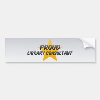 Proud Library Consultant Bumper Stickers