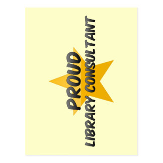 Proud Library Consultant Postcards