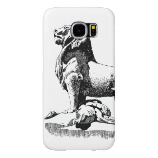 Proud Lion Samsung Galaxy S6 Cases