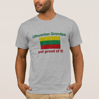 Proud Lithuanian Grandpa T-Shirt