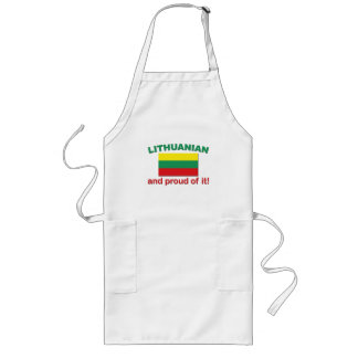 Proud Lithuanian Long Apron