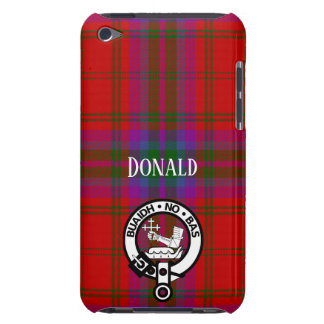 Proud MacDougall Plaid and Crest iPod Touch Cases