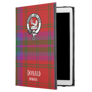 "Proud MacDougall Plaid iPad Pro 12.9"" Case"