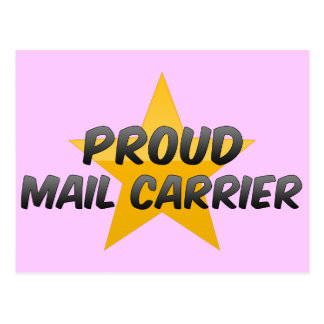 Proud Mail Carrier Post Card
