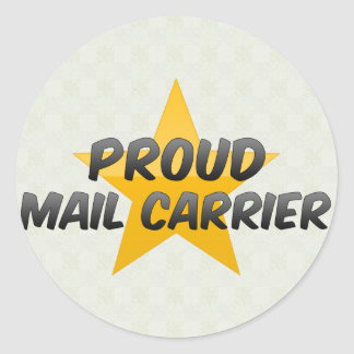 Proud Mail Carrier Stickers