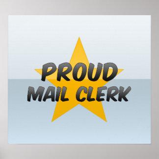 Proud Mail Clerk Print