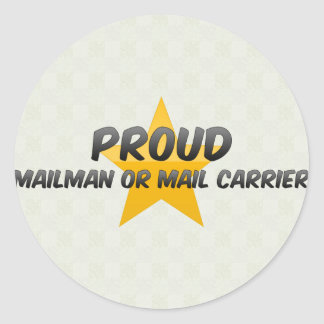 Proud Mailman Or Mail Carrier Sticker