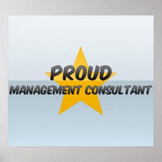Proud Management Consultant Print