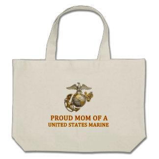 Proud Marine Mom Bag
