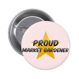 Proud Market Gardener Pinback Button