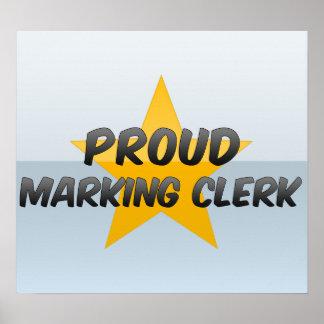 Proud Marking Clerk Print