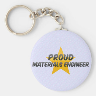 Proud Materials Engineer Keychain