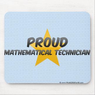 Proud Mathematical Technician Mousepads