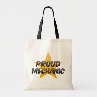 Proud Mechanic Canvas Bag