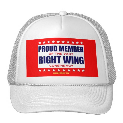 PROUD MEMBER OF THE VAST RIGHT WING CONSPIRACY MESH HATS