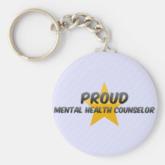 Proud Mental Health Counselor Key Chains